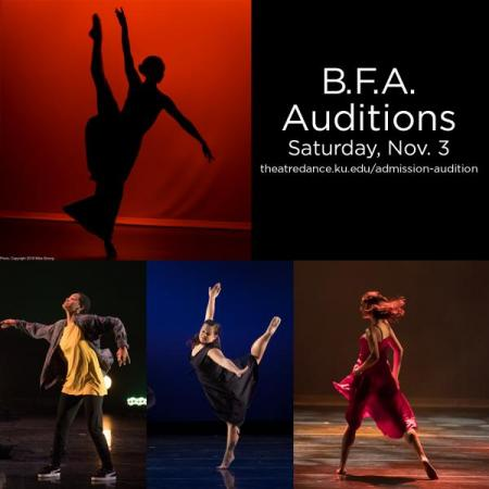 Dance B.F.A Auditions November 3