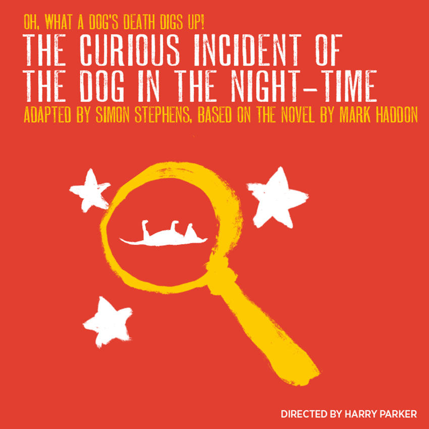 Show illustration for The Curious Incident of the Dog in the Night-Time