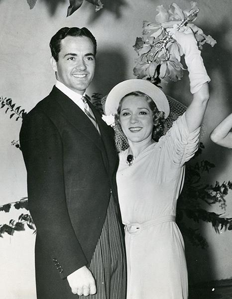 "Charles ""Buddy Rogers and Mary Pickford"