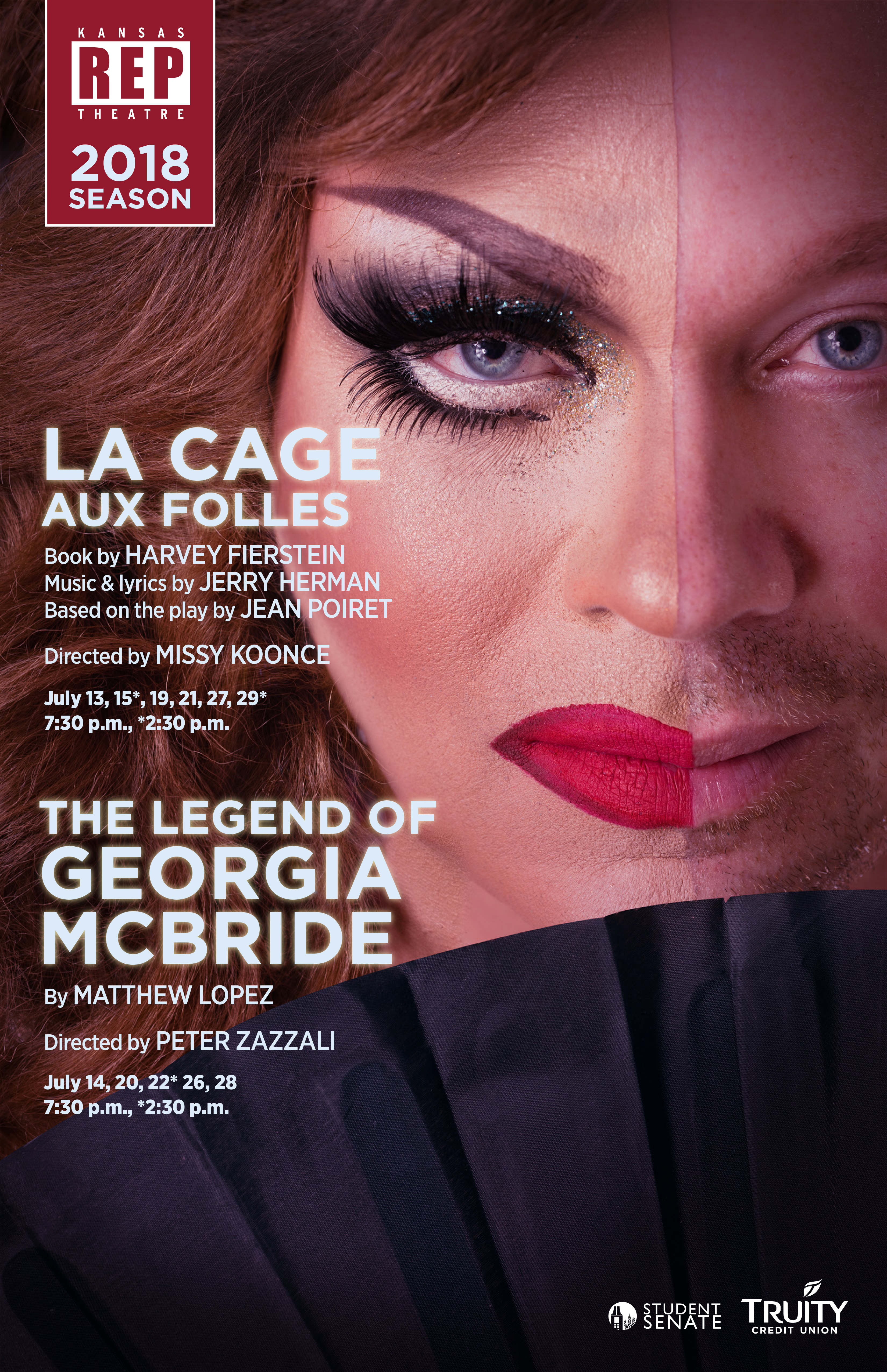 Show artwork for La Cage aux Folles and the Legend of Georgia McBride